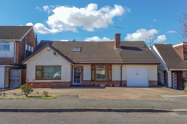 Thumbnail Detached bungalow for sale in Drury Lane, Oadby, Leicester