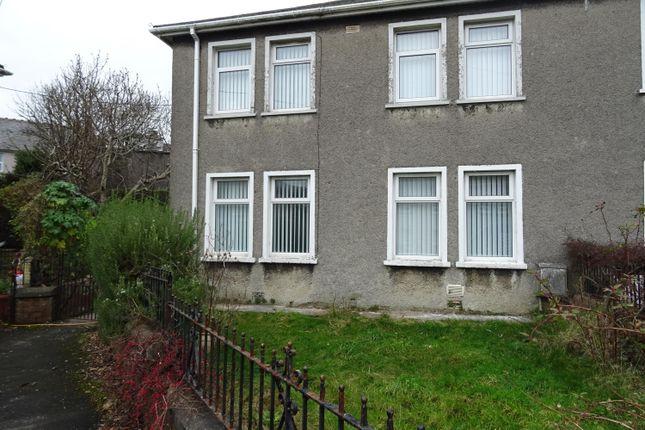 Thumbnail Semi-detached house to rent in Gwalia Road, Pencoed, Bridgend