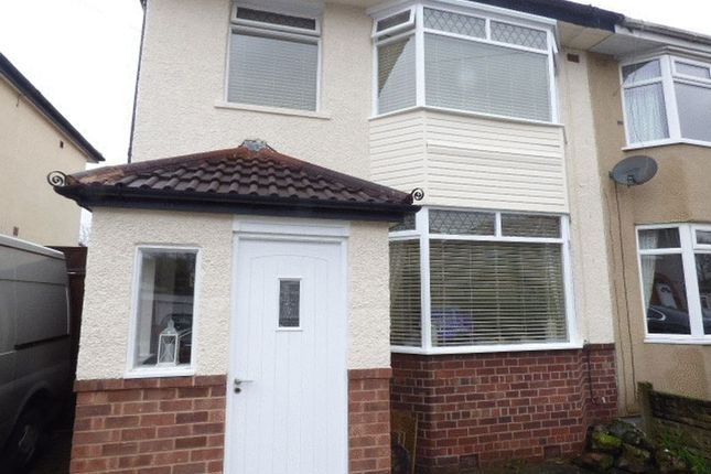 Thumbnail Semi-detached house to rent in Granville Avenue, Maghull, Liverpool