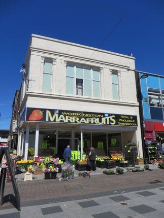 Thumbnail Retail premises to let in Pow Street, 54/56, Workington