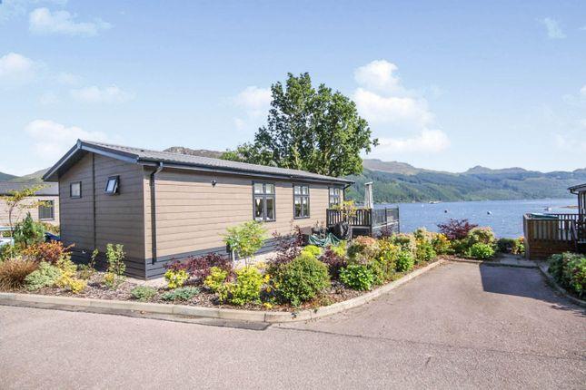Thumbnail Mobile/park home for sale in Drimsynie Holiday Park, Lochgoilhead