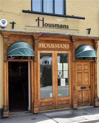 Restaurant/cafe to let in Restaurant Premises With Living Accommodation, Housmans, 27 High Street, Church Stretton, Shropshire