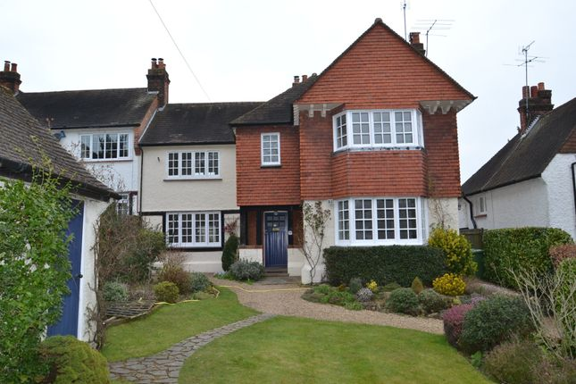 Thumbnail Semi-detached house to rent in Christchurch Crescent, Radlett