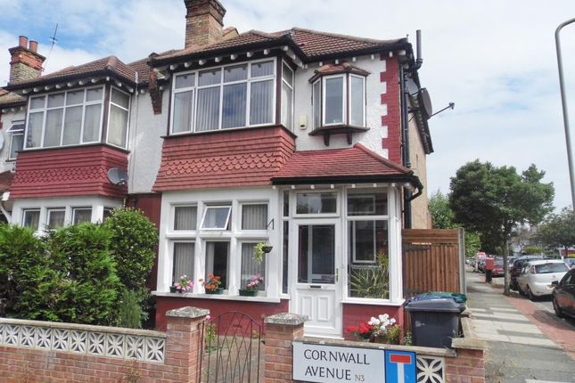 Thumbnail Property to rent in Cornwall Avenue, Finchley, London
