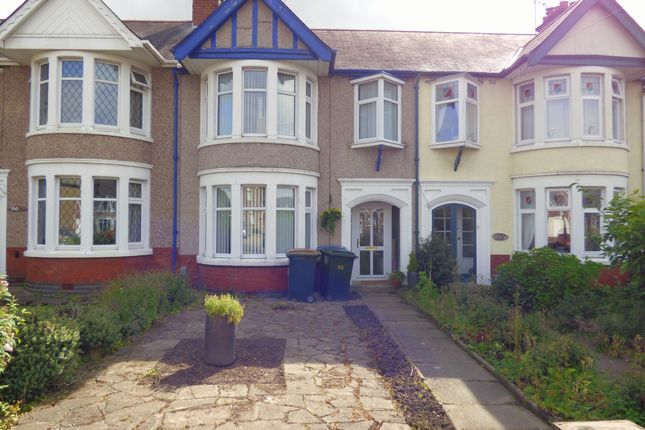 Thumbnail Terraced house to rent in Keresley Road, Coventry