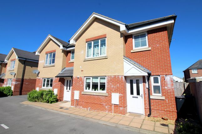 Thumbnail Semi-detached house for sale in Oasis Close, Upton, Poole