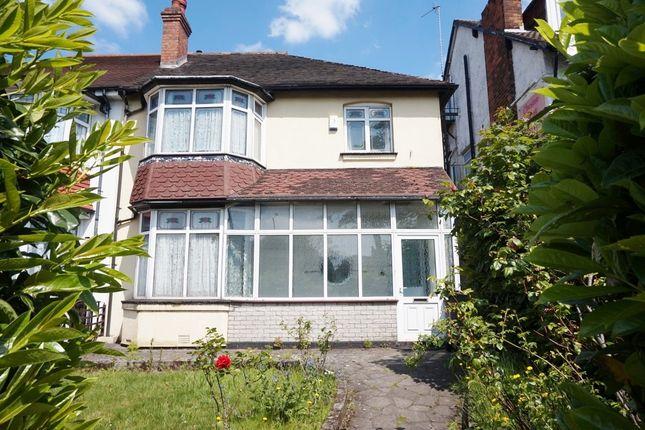 Semi-detached house for sale in Chester Road, Erdington, Birmingham