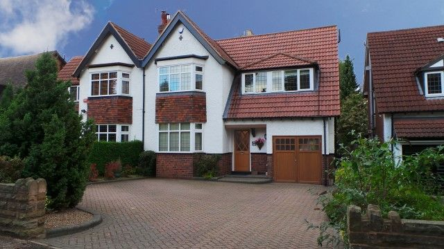 Thumbnail Semi-detached house for sale in Goldieslie Road, Sutton Coldfield, West Midlands