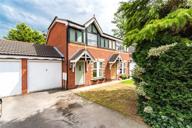 Thumbnail 3 bed semi-detached house for sale in Millfield Gardens, Nether Poppleton, York