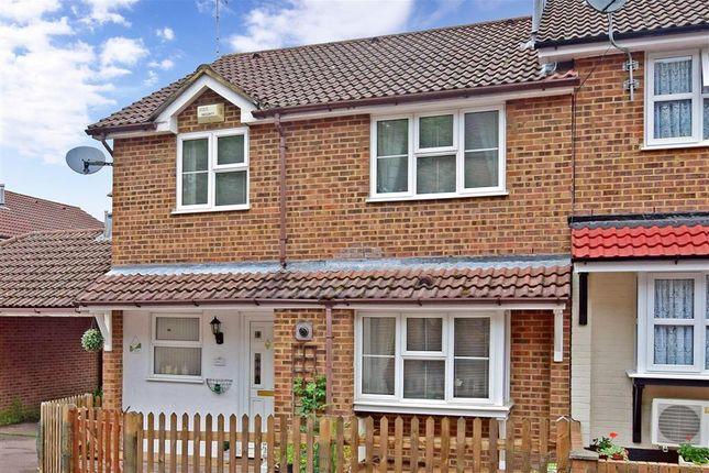 Thumbnail End terrace house for sale in Whelan Way, Wallington, Surrey