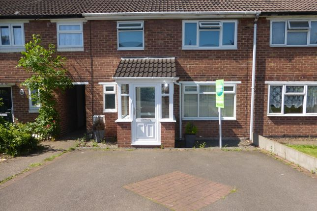 Thumbnail End terrace house to rent in Queens Way, Tamworth