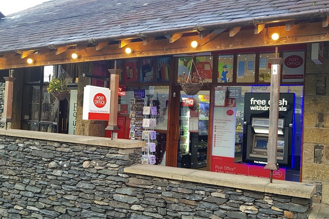 Thumbnail Retail premises for sale in 2 St. Martins Parade, Windermere