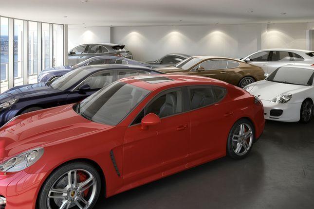Penthouse Car Garage At The Porsche Design Tower In Miami