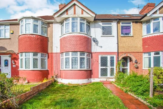 Thumbnail 3 bed terraced house for sale in Whitton Avenue West, Greenford, Middlesex, London