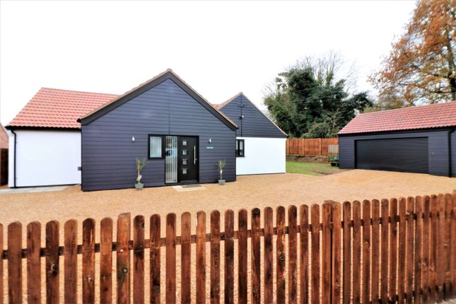 Thumbnail Detached bungalow for sale in Rushmeadow Road, Dereham