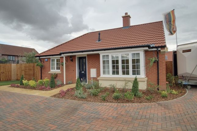 Thumbnail Bungalow for sale in The Hereward (Plot 205), Mayfield Gardens, Baston, Peterborough