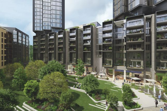 Thumbnail Flat for sale in 5.01, Aurora, 250 City Road, London