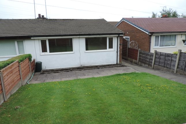 Thumbnail Semi-detached bungalow to rent in Victoria Way, Royton, Oldham