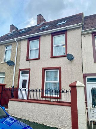 3 bed terraced house for sale in Vicary Street, Milford Haven, Pembrokeshire SA73