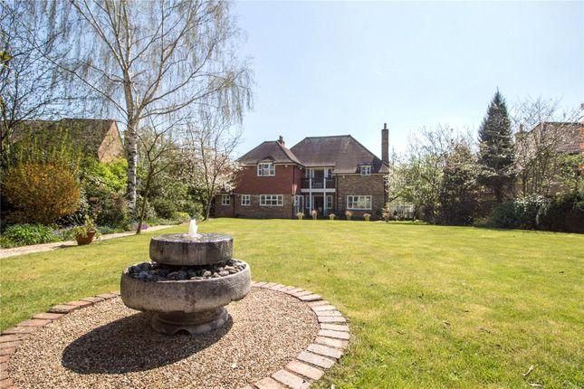 Thumbnail Detached house for sale in Burnmoor Meadow, Finchampstead, Wokingham