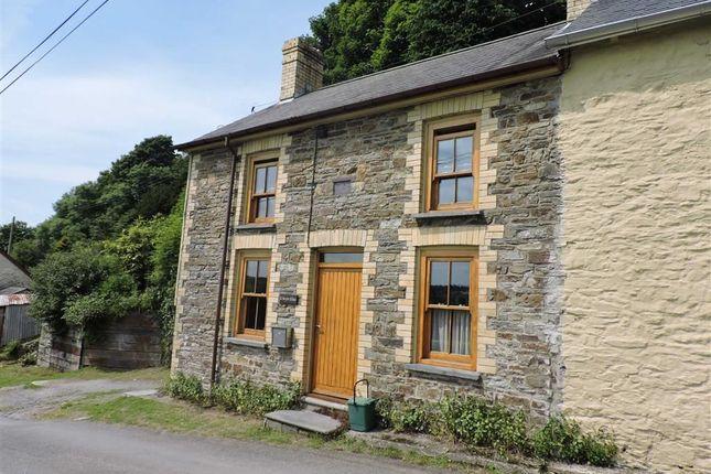 Thumbnail End terrace house for sale in Pontshaen, Llandysul