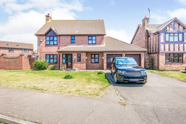 Thumbnail Detached house for sale in Hewitt Road, Ramsey, Harwich