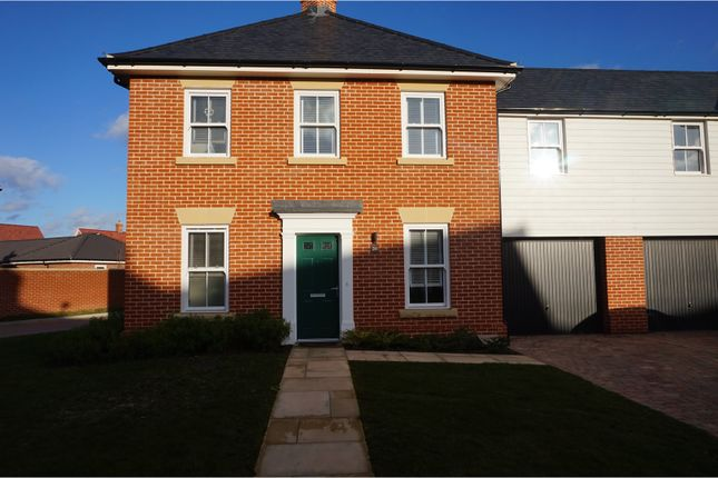 Thumbnail Link-detached house for sale in Strawberry Avenue, Manningtree