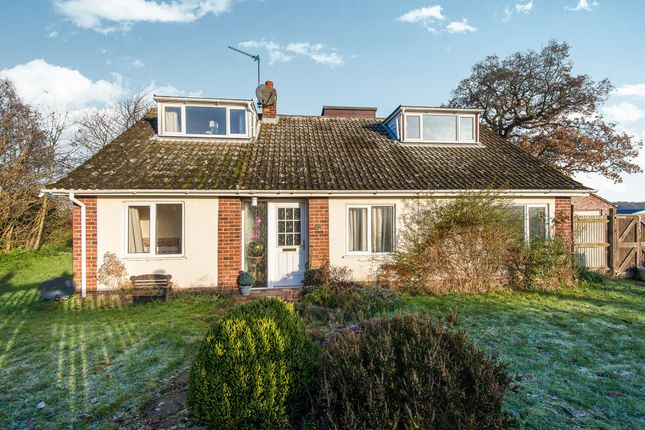 Thumbnail Detached bungalow for sale in Mill Close, Blofield Heath, Norwich