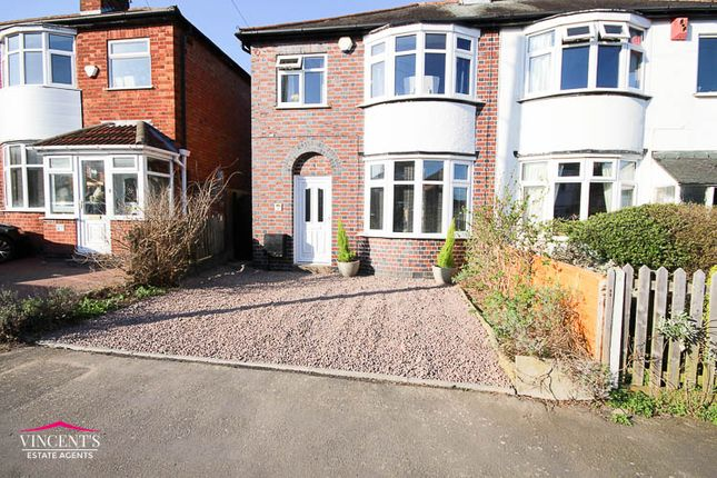 Thumbnail Semi-detached house for sale in Monica Road, Leicester