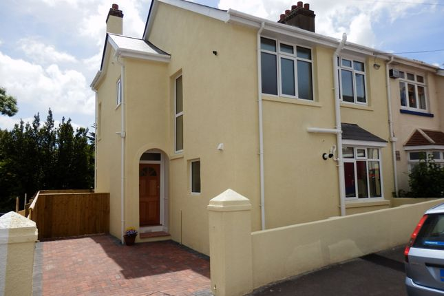 Thumbnail Flat to rent in Rowley Road, St. Marychurch, Torquay
