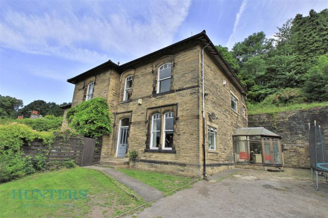 Thumbnail Semi-detached house for sale in Wood Bank East, Burnley Road, Luddendenfoot, Halifax