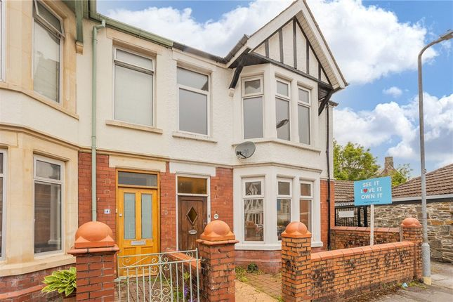 Thumbnail End terrace house for sale in Palace Avenue, Llandaff, Cardiff