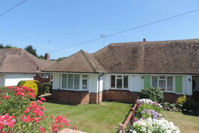 Semi-detached bungalow for sale in Holliers Hill, Bexhill On Sea, East Sussex