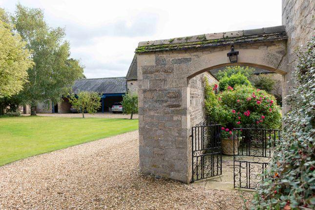 Stone Archway To Garden