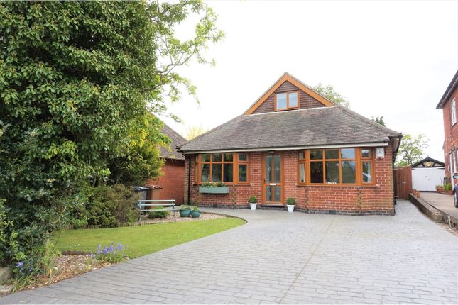 Thumbnail Detached bungalow for sale in Chellaston Lane, Aston On Trent