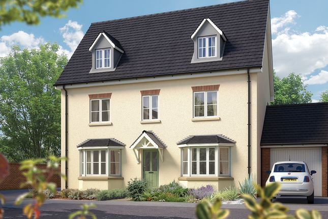 "Thumbnail Detached house for sale in ""The Stratford"" at Sentrys Orchard, Exminster, Exeter"