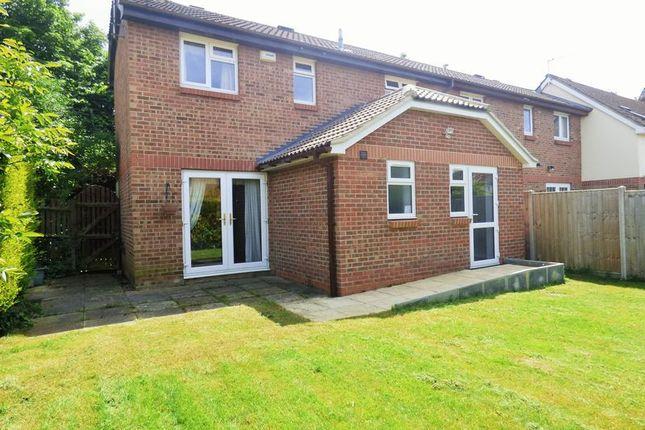 Thumbnail End terrace house for sale in Oakridge Close, Abbeymead, Gloucester