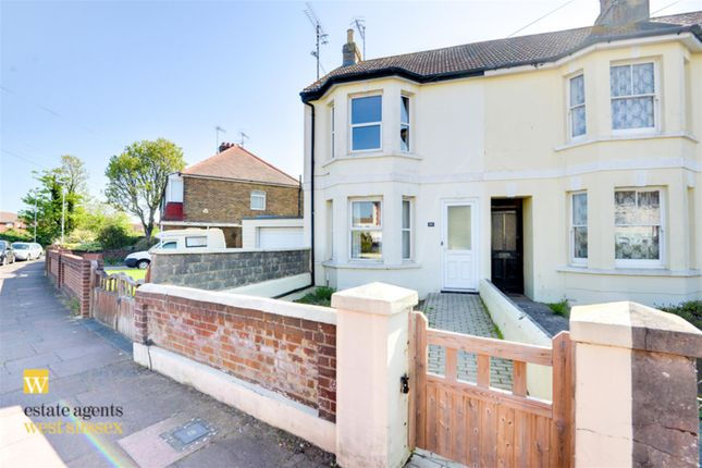 3 bed end terrace house for sale in Ripley Road, Worthing, West Sussex