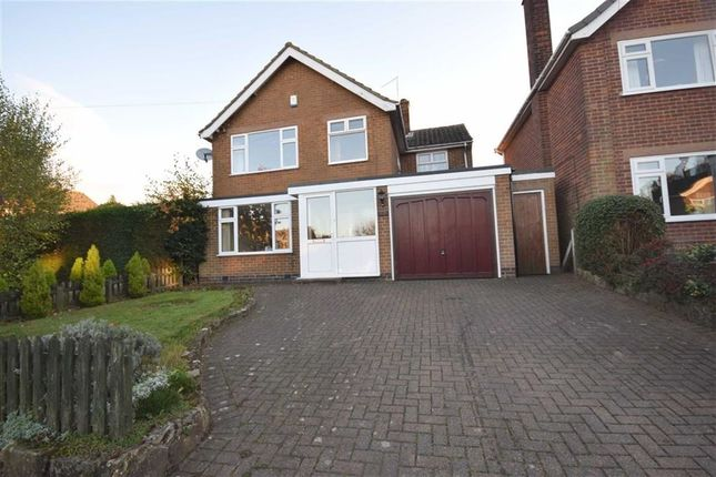 Thumbnail Detached house for sale in Moorfield Road, Holbrook, Belper