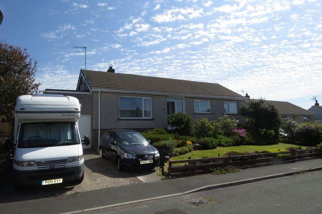 Thumbnail Detached bungalow for sale in Station Crescent, Beckermet, Cumbria