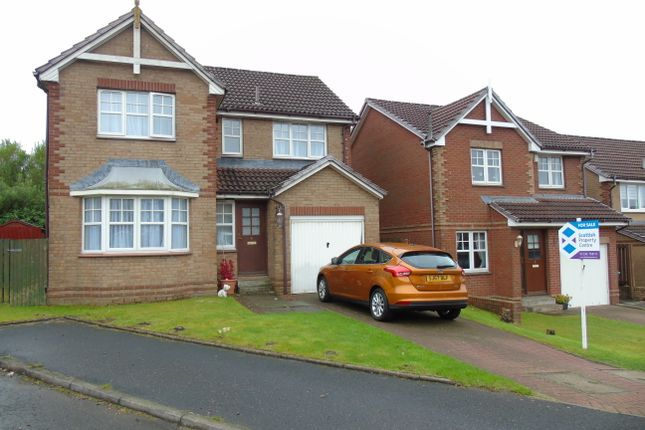 Thumbnail Detached house for sale in Dalry Place, Chapelhall, Airdrie, North Lanarkshire