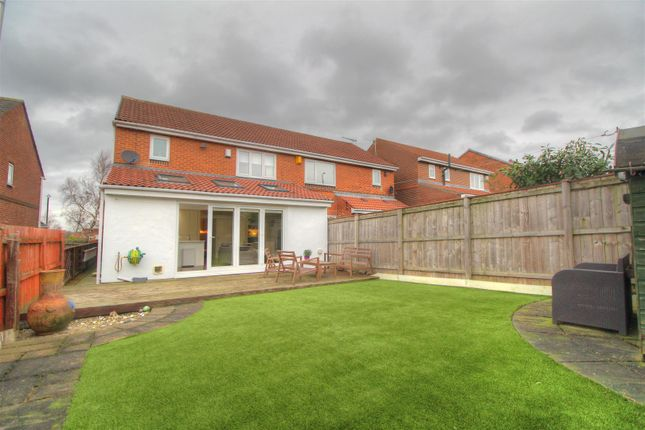 Thumbnail Semi-detached house for sale in Devonport, Newbottle, Houghton Le Spring