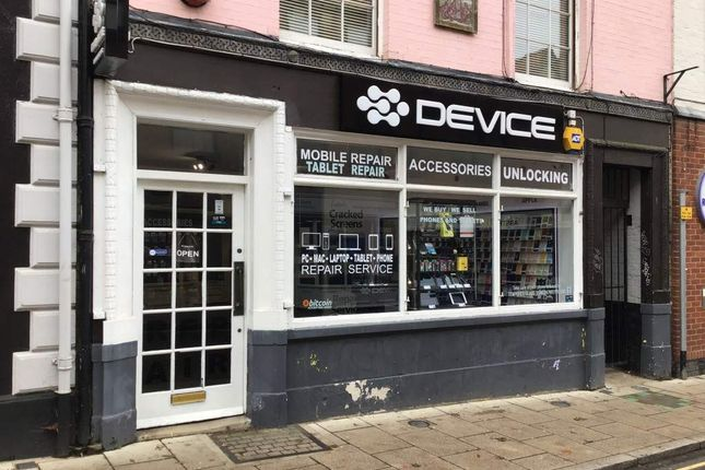 Thumbnail Retail premises for sale in St. Benedicts Street, Norwich