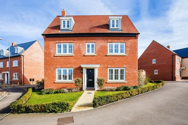 Thumbnail Detached house for sale in Pillow Way, Buckingham