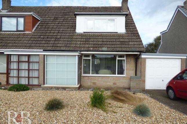 Thumbnail Semi-detached bungalow for sale in Hazelmount Drive, Warton, Carnforth