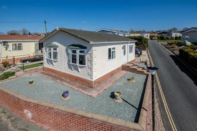 Thumbnail Mobile/park home for sale in 93 Sunny Haven, Howey, Llandrindod Wells