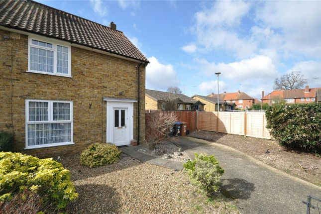 Thumbnail End terrace house for sale in Pinewood, Welwyn Garden City, Hertfordshire