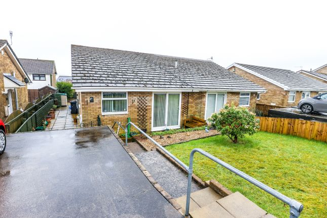 Thumbnail Semi-detached bungalow for sale in Caerleon Grove, Castle Park Merthyr Tydfil