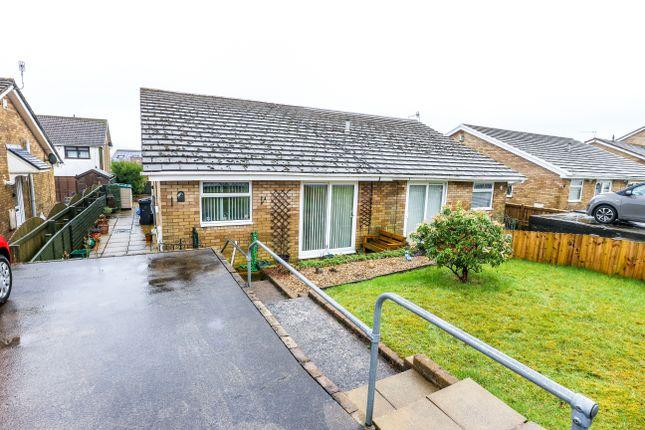 Thumbnail Semi-detached bungalow for sale in Caerleon Grove, Castle Park Merthyr Tydfil