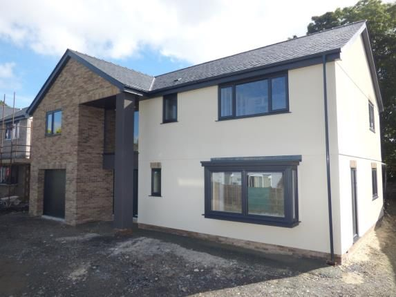Thumbnail Detached house for sale in Plot 1, Y Graig Development, Off Cil Y Graig, Llanfair Pg